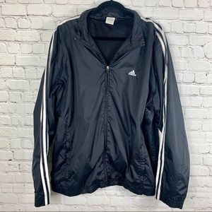 Men's Adidas Windbreaker Track Jacket size Large